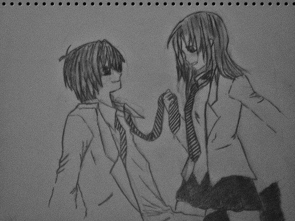 Blog de manga dessins l page 2 blog de manga dessins l - Dessin manga couple ...