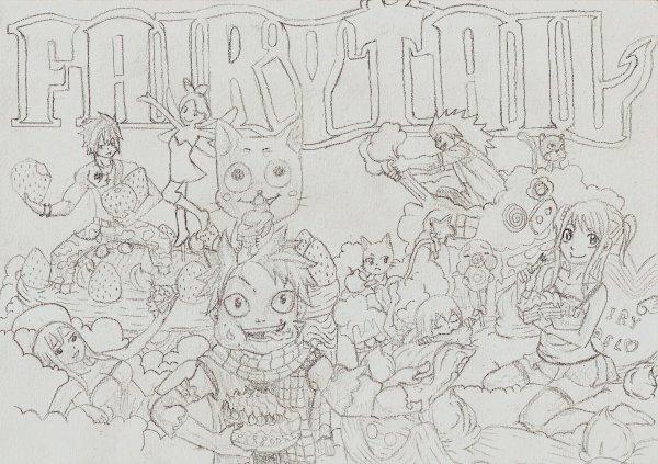Coloriage fairy tail blog fairy titi luchia chan - Fairy tail a colorier ...