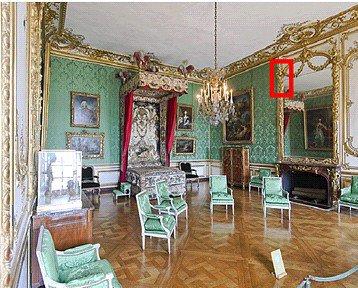 Rez de chauss e aile centrale appartement du dauphin for Chambre louis xvi versailles